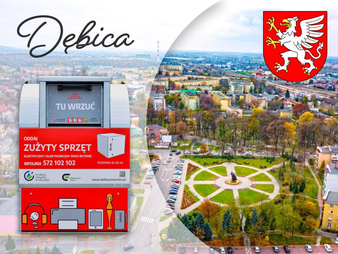 Czerwone pojemniki już w Dębicy!