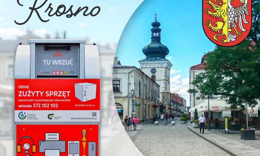 Czerwone pojemniki już w Krośnie!