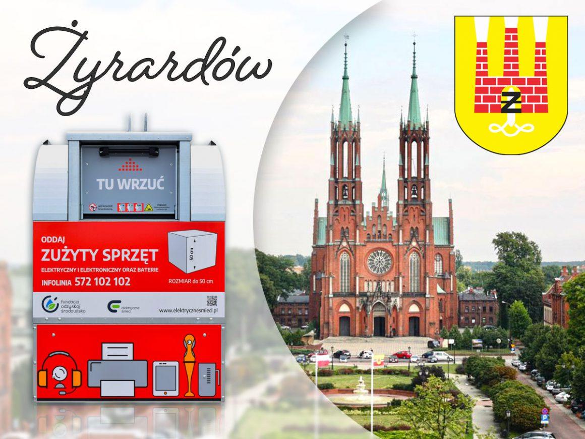 Pojemniki na elektryczne śmieci w Żyrardowie!