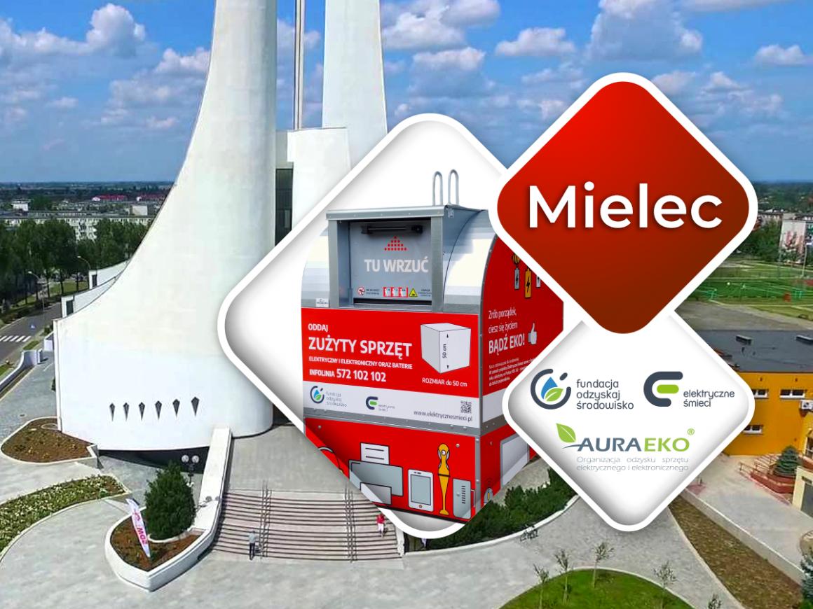 """Projekt """"Elektryczne Śmieci"""" debiutuje w Mielcu"""