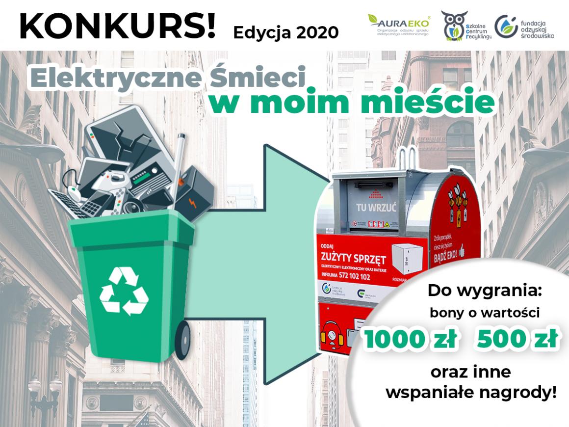 """Konkurs – """"Elektryczne śmieci w moim mieście"""""""