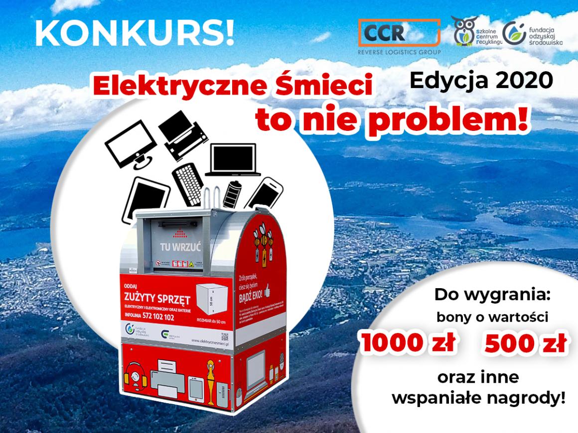 """Konkurs – """"Elektryczne śmieci to nie problem"""""""
