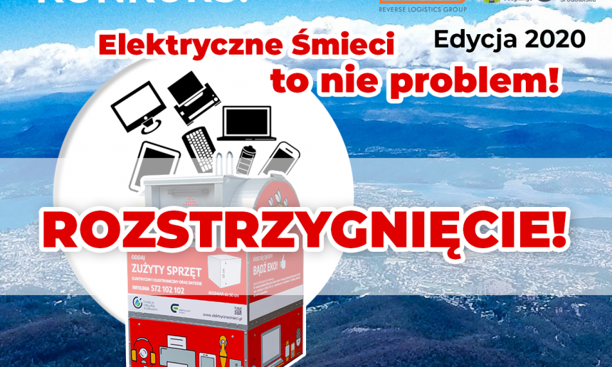 """Konkurs """"Elektryczne śmieci to nie problem"""" Edycja 2020 został rozstrzygnięty!"""