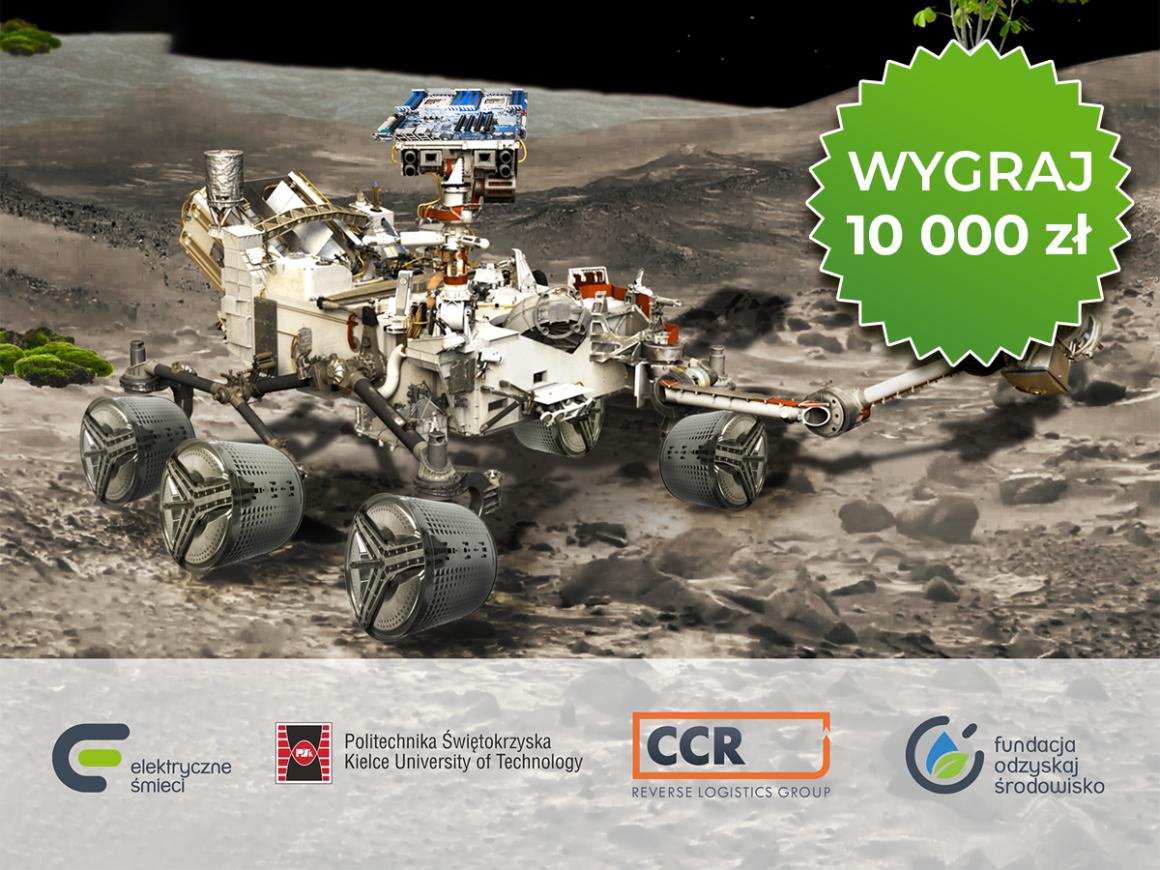 Wyprawa na Marsa – trwa konkurs na łazika z recyklingu!